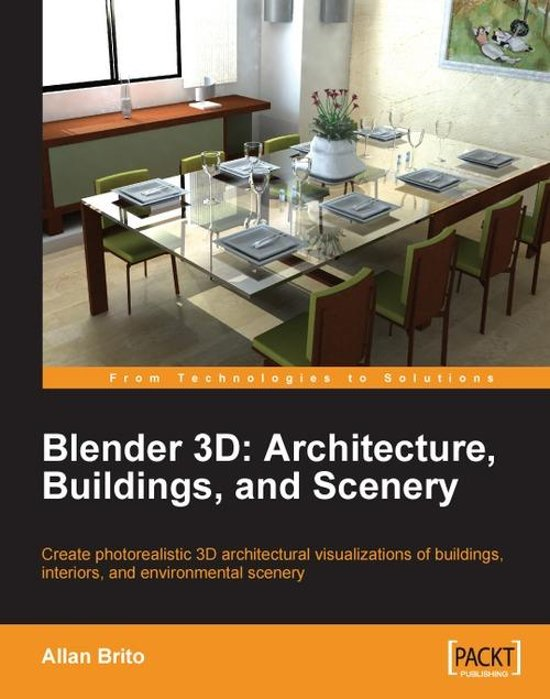 Blender 3d architecture buildings and scenery