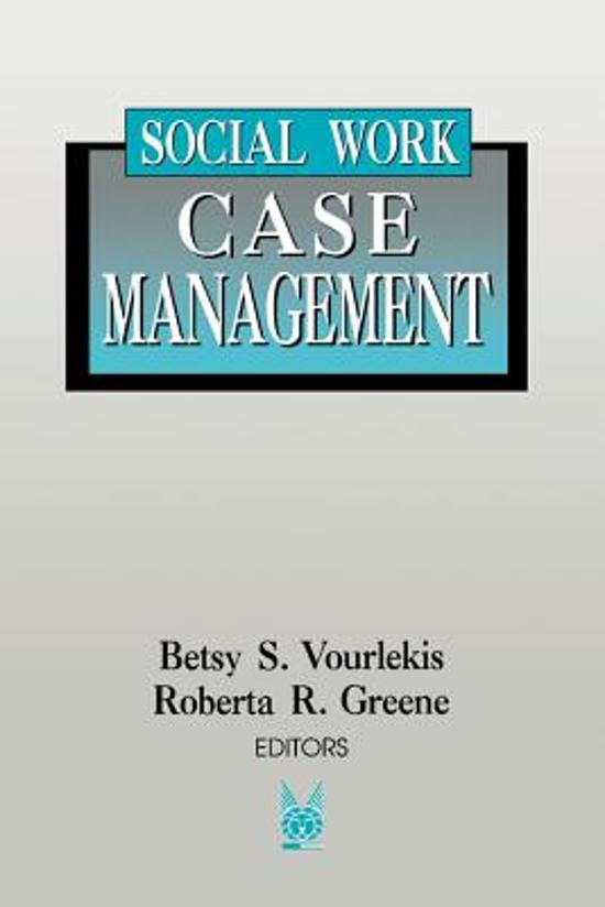 Management of Human Services