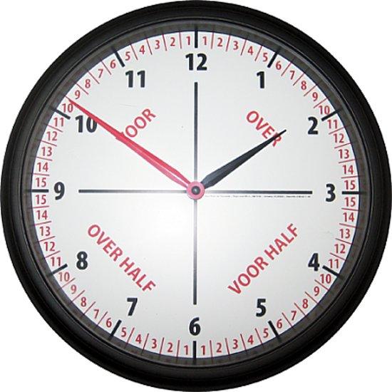 123 klok 12 uurs - Klok cm ...
