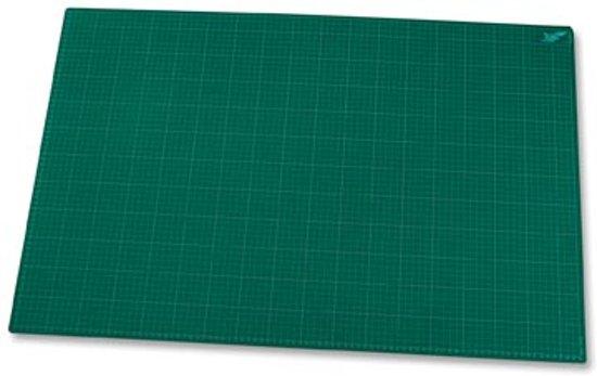 Snijmat A1+ formaat (600mm X 900 mm) - groen in Lijnden