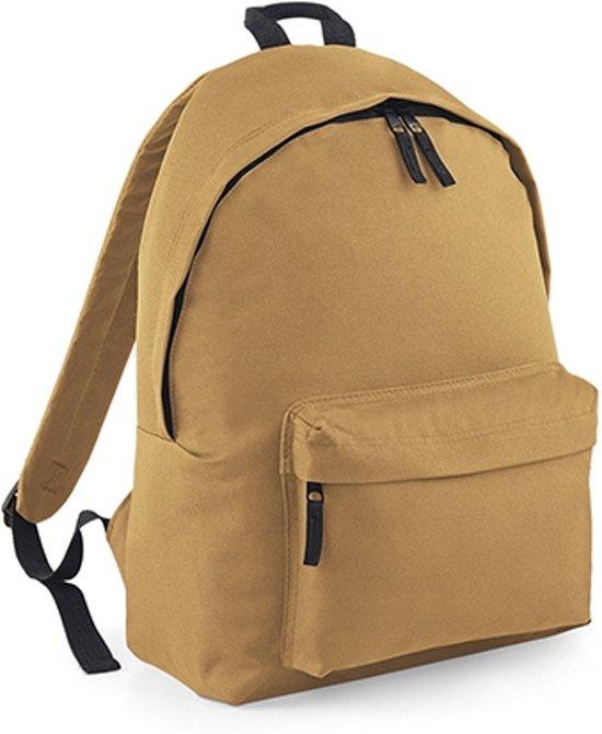 BagBase Backpack - Rugzak - 18 l - Caramel in Ingelum / Engelum
