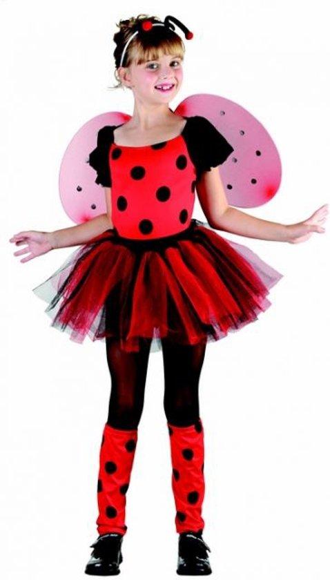 Verkleedkostuum Lieveheersbeest voor meisjes Carnvaloutfit - Verkleedkleding - 134-146 in Wolvertem