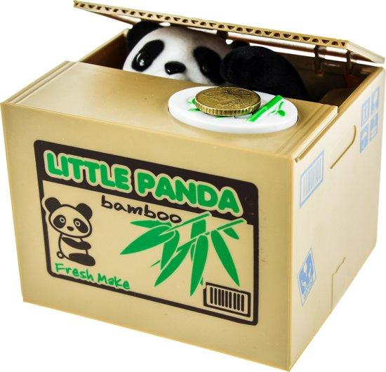 Spaarpot Panda Bank in Kopaf