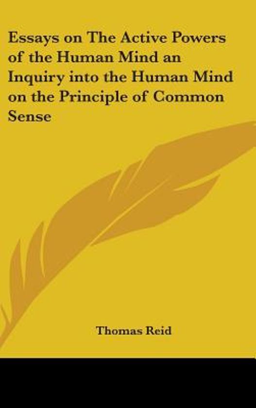 common sense essays mind and common sense philosophical essays on common