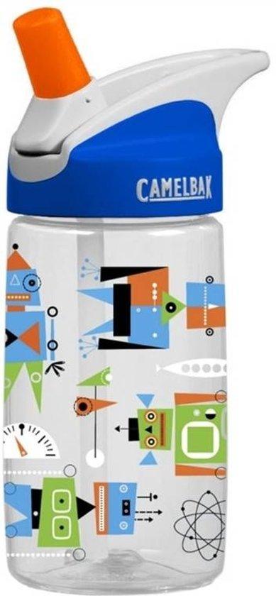 Camelbak Bidon Eddy Kids 400ML Atomic Robots in De laatste Stuiver / De L?ste Stuver