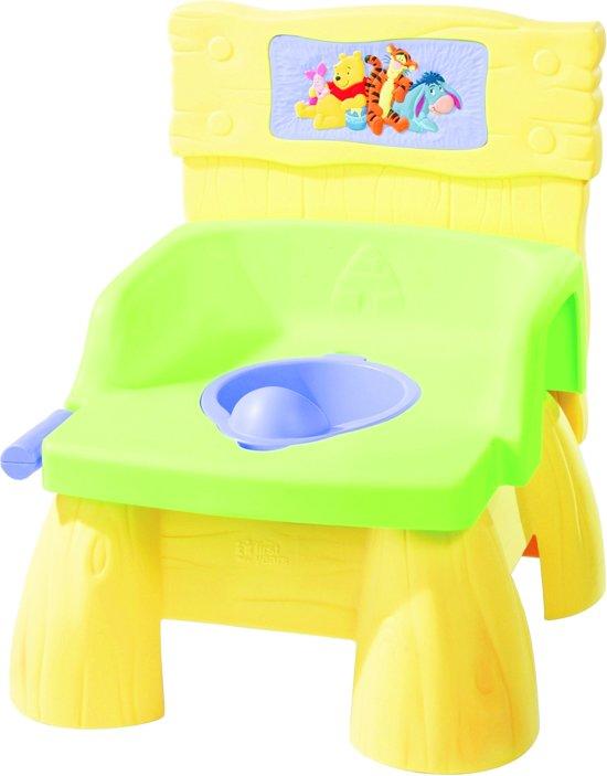 Winnie de poeh 3 in 1 toilettrainer met doorspoelgeluiden potje opstapje en wc verkle for Wc ontwikkeling