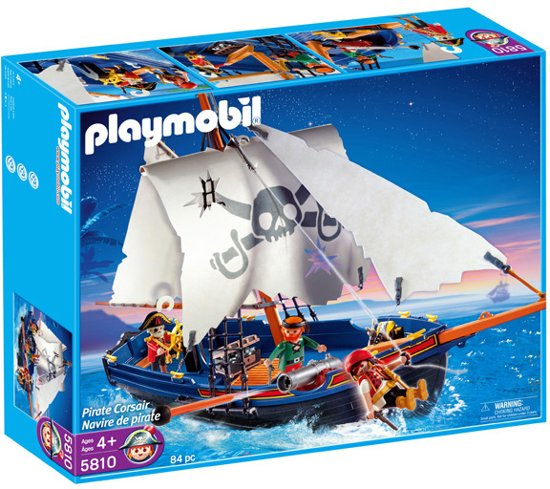 playmobil piratenschip 5810 playmobil. Black Bedroom Furniture Sets. Home Design Ideas