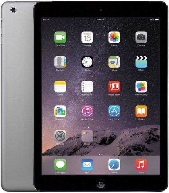 Apple iPad Air - WiFi -Zwart/Grijs -  16GB - Tablet