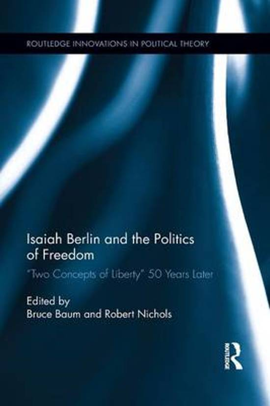 Isaiah berlin four essays