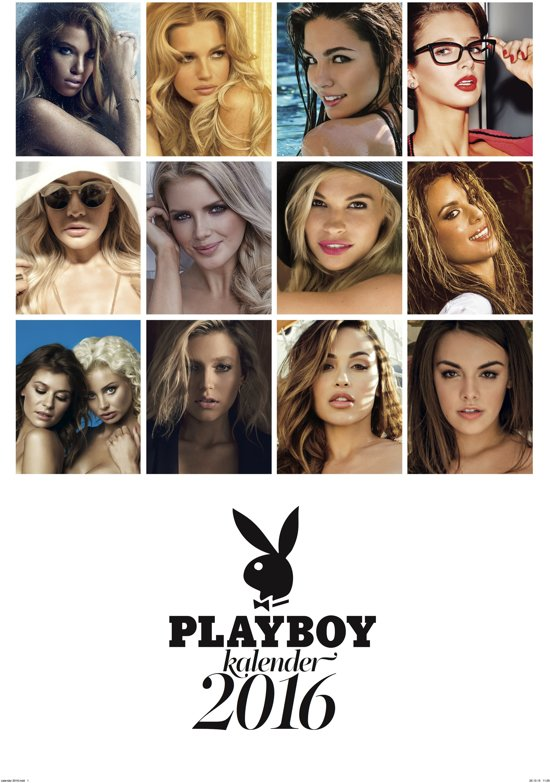 playboy kalender 2016 0088352126326 boeken. Black Bedroom Furniture Sets. Home Design Ideas