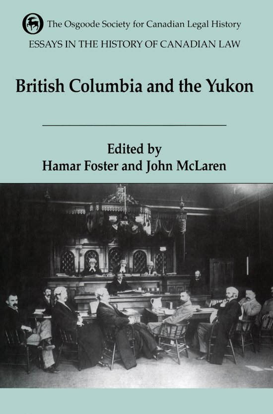 Essays in the history of canadian law vol. 5