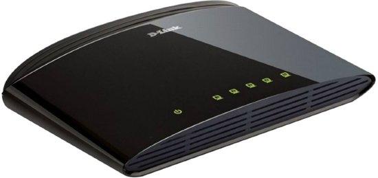 D-Link 1005D 5-poorten 10/100 Mbps desktop switch