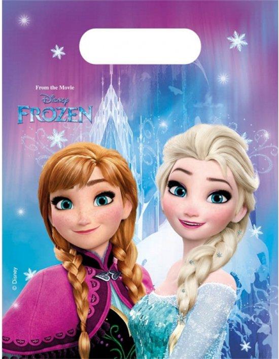 Frozen thema feestzakjes in Gooik