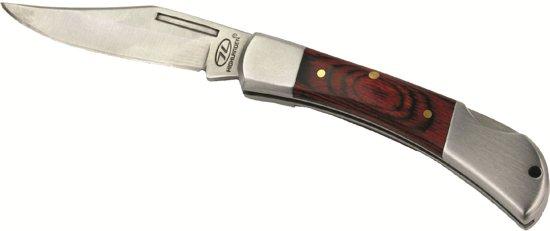 Highlander Kingfisher 6.5cm Mes (Wandelpremie) - Rood in Ezemaal