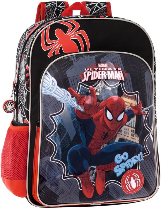 Spiderman Adaptable Backpack 40 - Rugzak - Kinderen - Multi colour in Westkapelle