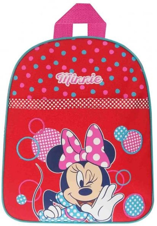 Minnie Mouse Spot the Dots - Rugzak - Rood in Ysbrechtum