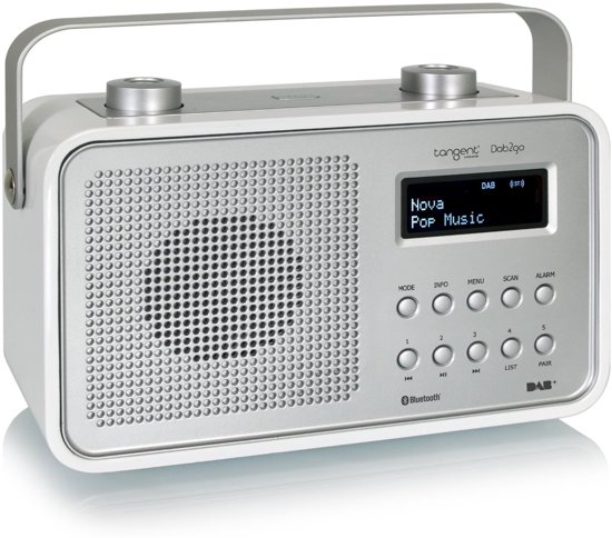 tangent 2go portable radio dab bluetooth. Black Bedroom Furniture Sets. Home Design Ideas