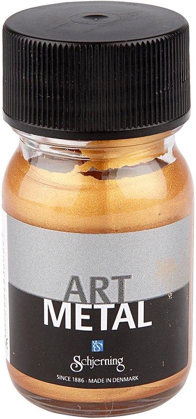 Art Metal verf, medium goud, 30 ml in Roermond