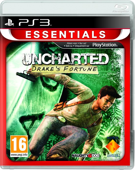 Uncharted: Drake's Fortune - Essentials Edition