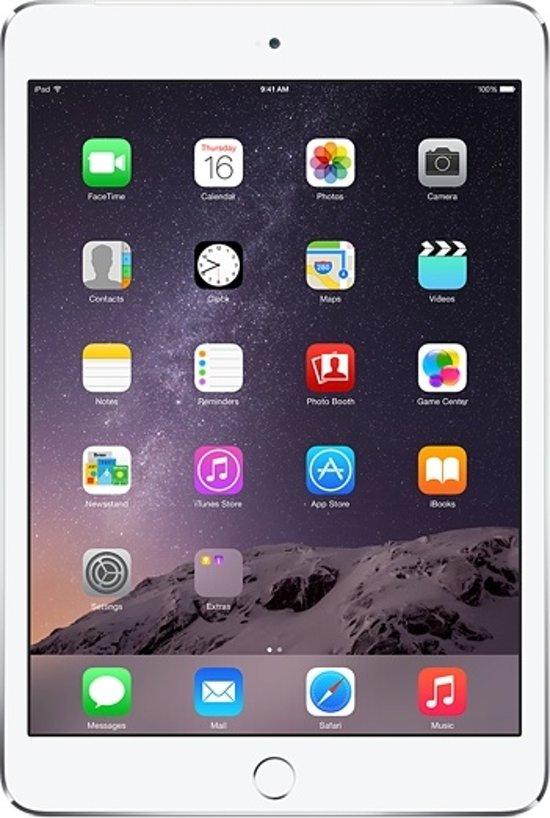 Apple iPad Air 2 -  4G + WiFi - Wit/Zilver - 16GB - Tablet