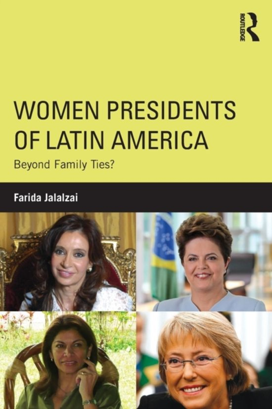 female presidents in latin america How is it that, despite having a more male-dominated culture, many latin american countries already have/had female presidents when north american countries still don't.