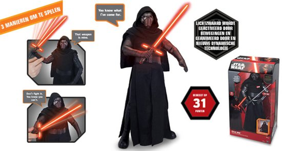Star Wars Kylo Ren Interactive - 44 cm in Middenbuurt
