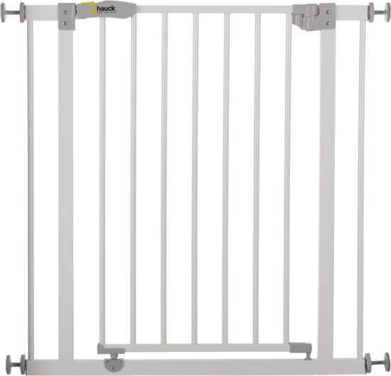 Hauck open 39 n stop traphekje 75 81 cm white for Cancelletti per bambini amazon