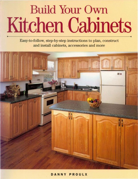 Build Your Own Kitchen Cabinets Ebook Adobe EPub Danny