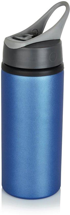 Aluminium sportfles, blauw in Habay-la-Vieille