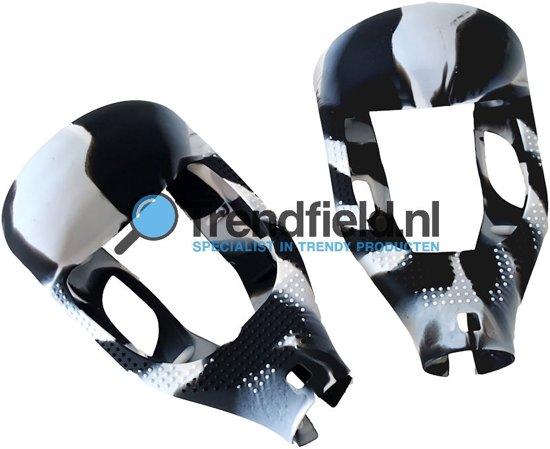 Trendfield.nl - 6,5 Inch Hoverboard / Oxboard Beschermhoes - Zwart/Wit in Californië