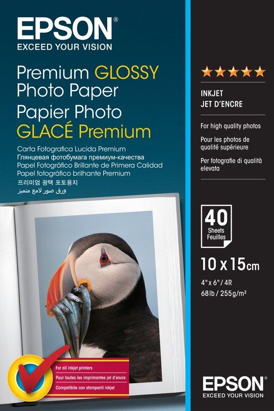 Epson C13S042153 Fotopapier Premium - 10x15 / 40 Vellen