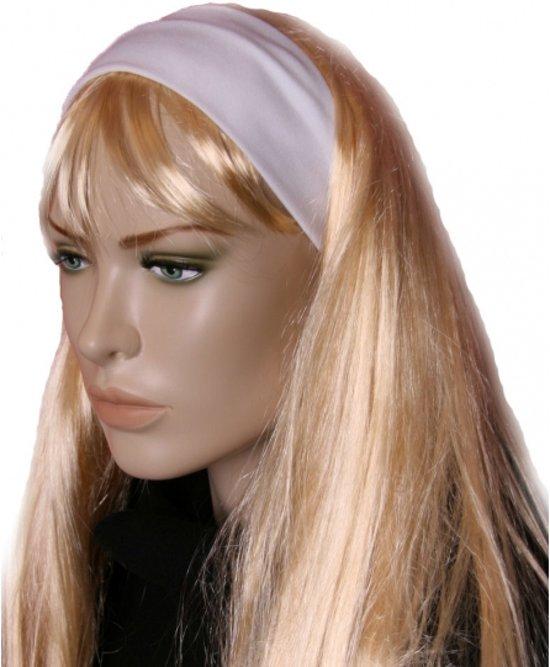 Witte stretch haarband in Essen