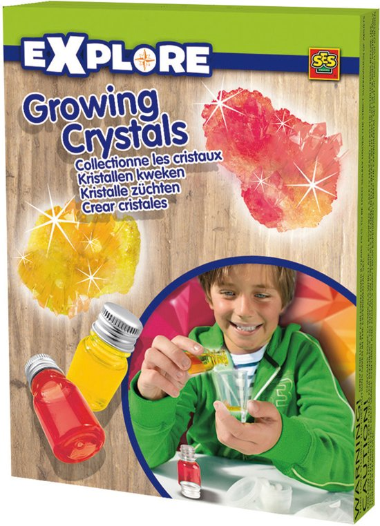 Ses Kristallen kweken