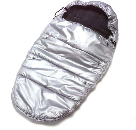 Titanium Baby - Voetenzak Buggy Mummy - Zilver