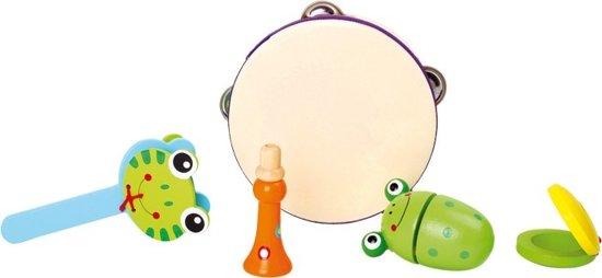 Base Toys Houten Kikker Muziekset in Zuidzande