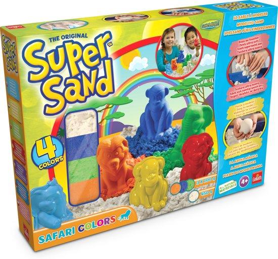 Super Sand Safari Colors - Speelzand in Malèves-Sainte-Marie-Wastines