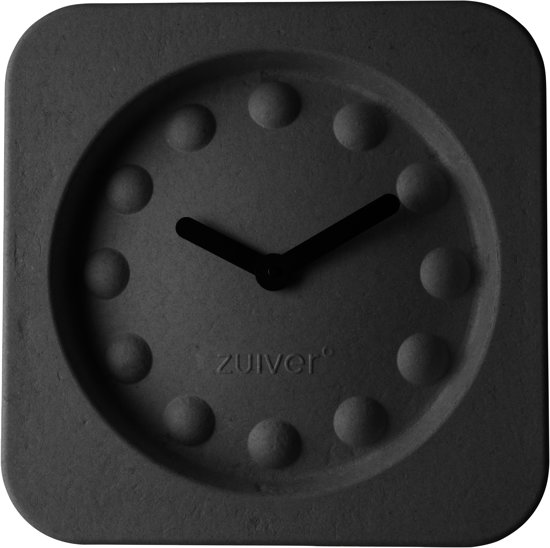 bol.com : Zuiver Pulp time - Klok - Vierkant - Kunststof - 36x36 cm ...