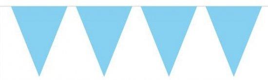 Jongen geboren vlaggenlijn babyblauw 10m in Exmorra / Eksmoarre