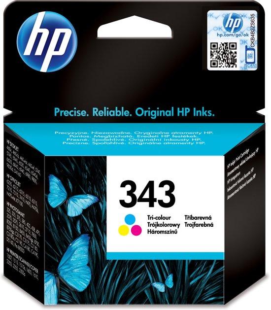 HP 343 - Inktcartridge /  Kleur / 7 ml