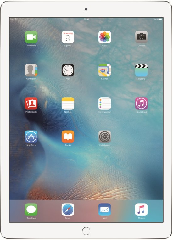 Apple iPad Pro - 12.9 inch - WiFi - Wit/Zilver - 32GB - Tablet