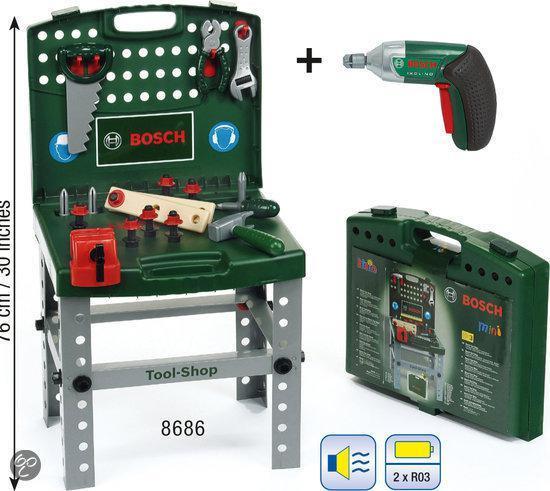 Bosch Speelgoed Werkbank in Lokeren