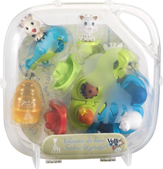 Sophie de Giraf - Nieuwe badset met plastic opruimkoffer