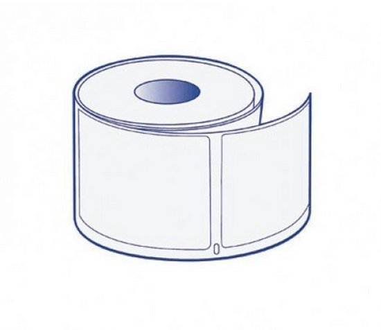 20x Compatible for Dymo 99012 White Large Address  260 Labels - Kleur: wit - Materiaal: papier - Afmeting: 89mm x 36mm