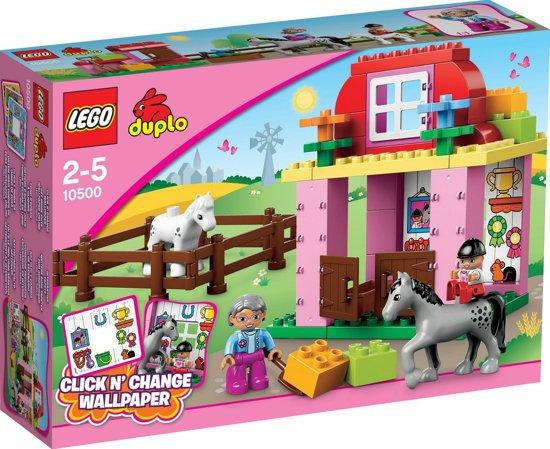 LEGO DUPLO Paardenstal - 10500 in Blauwverlaat / Blauforlaet