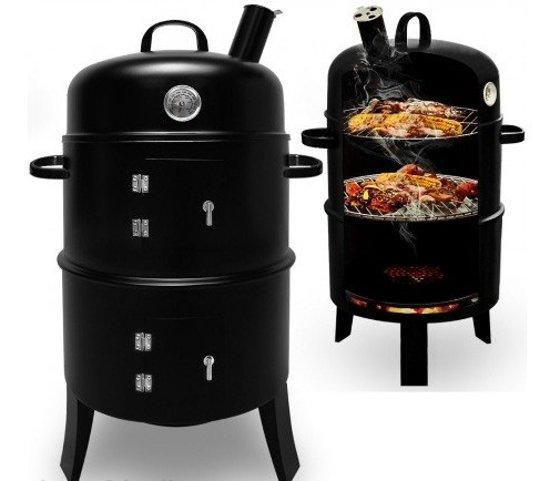 monzana barbecue roker grill oven. Black Bedroom Furniture Sets. Home Design Ideas