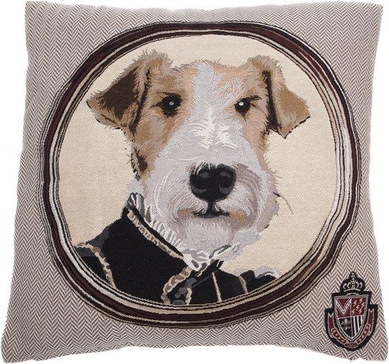 bol.com : In The Mood Napoleon Fox Terrier - Sierkussen - 45x45 cm ...