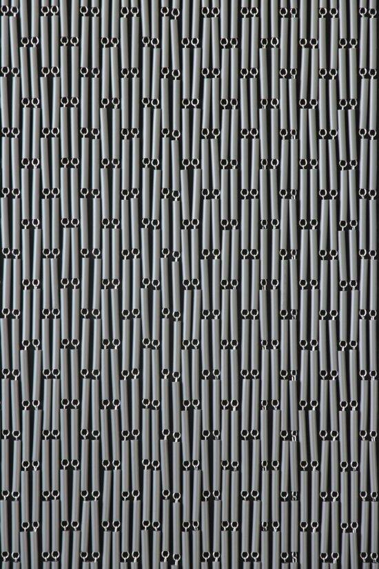 sun arts vliegengordijn zilvergrijs 90 x 210 cm inkortbaar. Black Bedroom Furniture Sets. Home Design Ideas