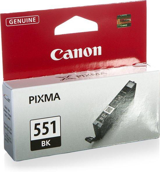 Canon CLI-551BK - Inktcartridge / Zwart
