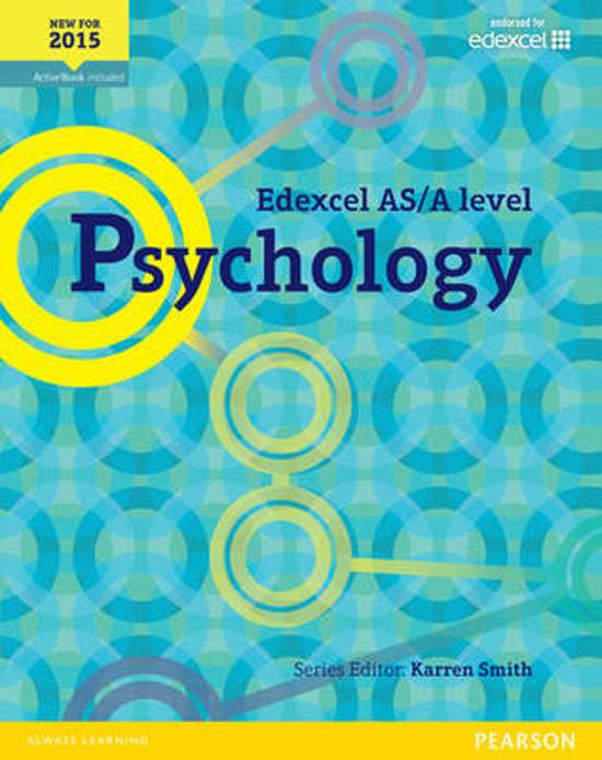 Edexcel GCSE (9-1) Psychology Student Book.