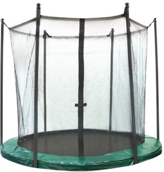 jumpline veiligheidsnet trampoline 305 cm groen jumpline. Black Bedroom Furniture Sets. Home Design Ideas